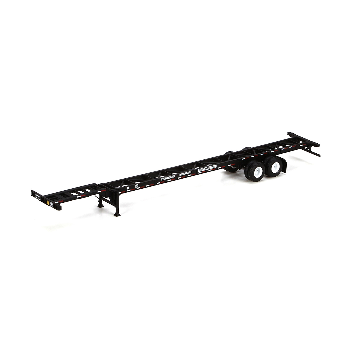 Athearn Ready To Roll ATH26593 HO 53' Container Chassis 2 Pack, NS