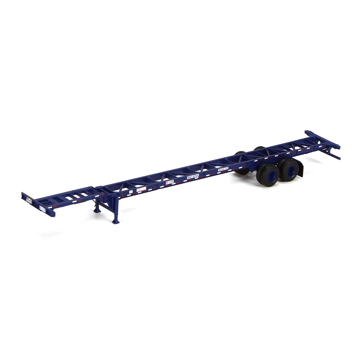Athearn Ready To Roll ATH26594 HO 53' Container Chassis 2 Pack, Pacer