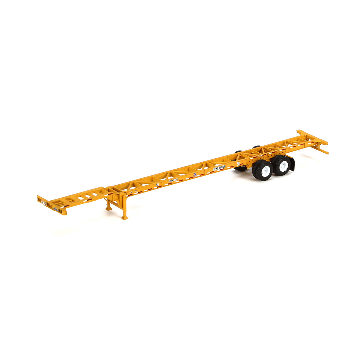 Athearn Ready To Roll ATH26595 HO 53' Container Chassis 2 Pack, UP