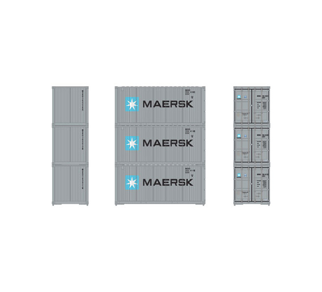 athearn_rtr_ho_bevel_container_maersk