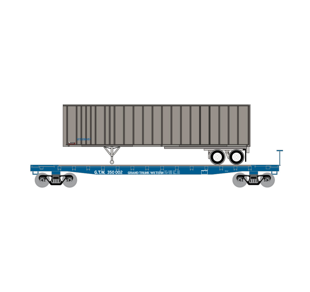athearn_nscale_53'_gsc_tofc_flat_w-trailer_gtw