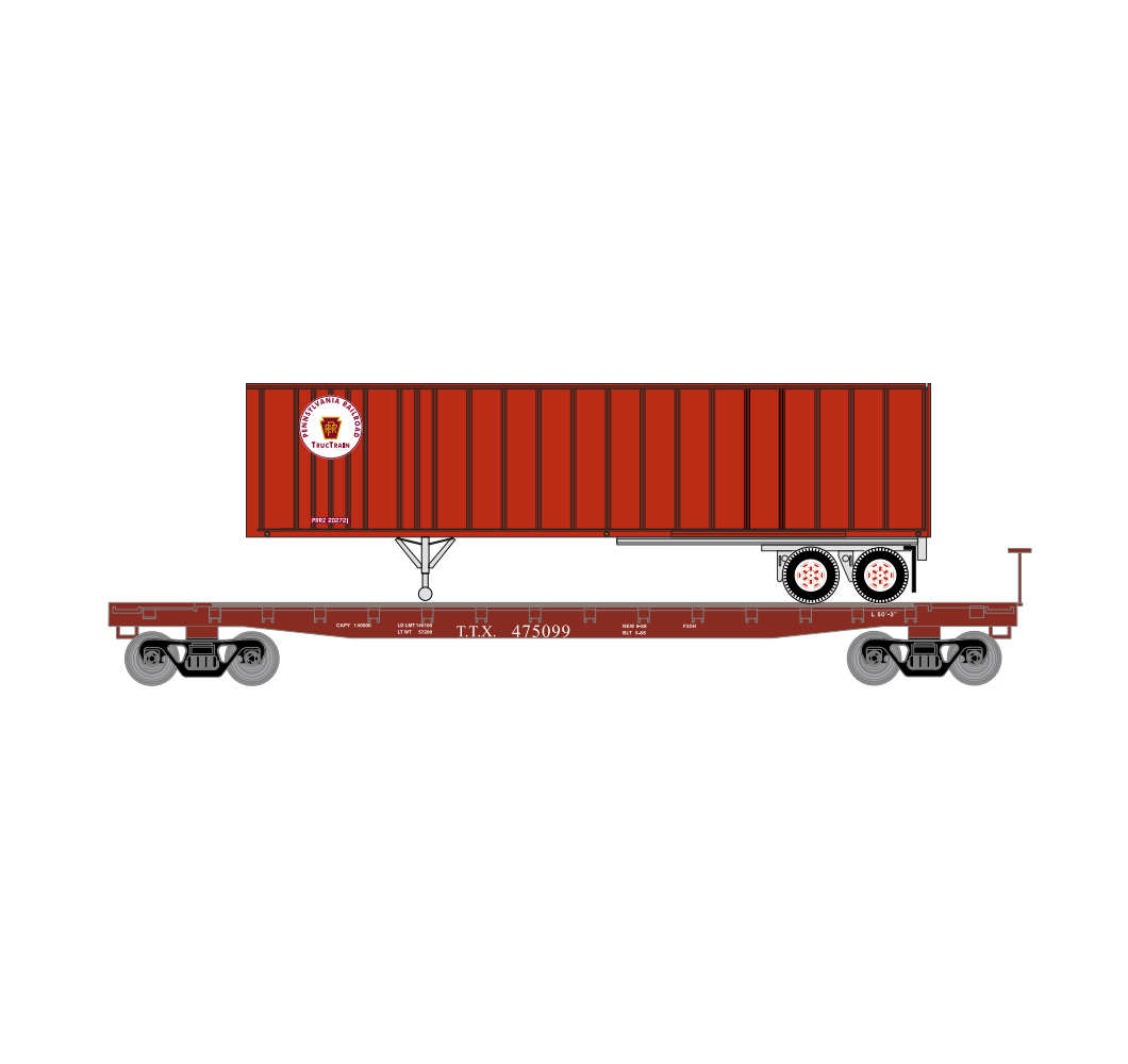 athearn_nscale_53'_gsc_tofc_flat_w-trailer_tt_prr