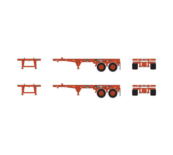athearn_rtr_ho_20'_container_chassis_hyundai