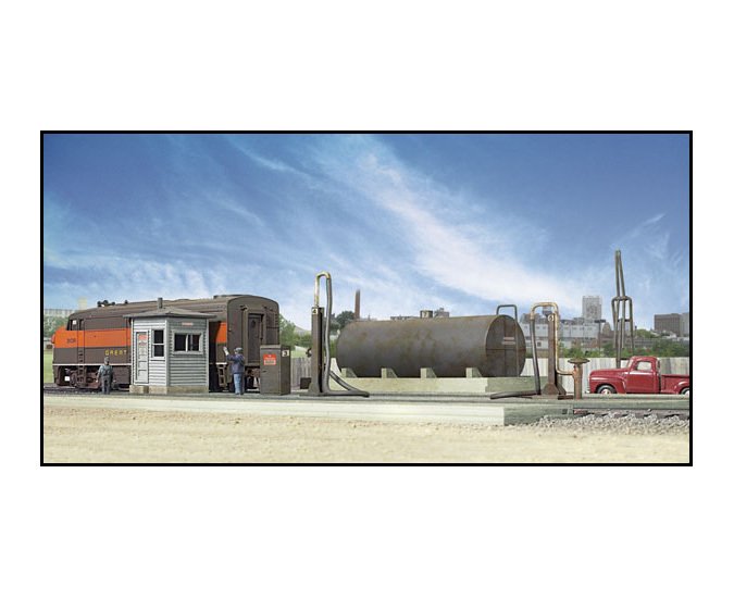 933-2908_walthers_cornerstone_diesl_fuel_facility