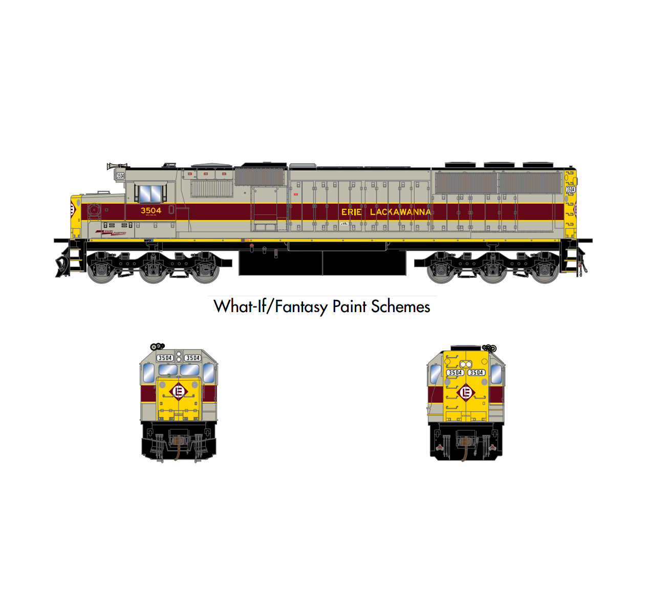 athearn_ready_to_roll_sd50_el_3504