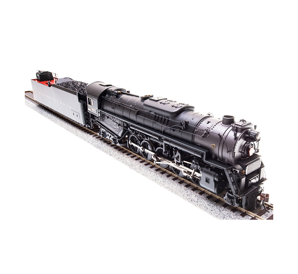 Broadway Limited Imports HO PRR J1A 2-10-4, Paragon 3 Sound, Cab #6498, BLI-4679