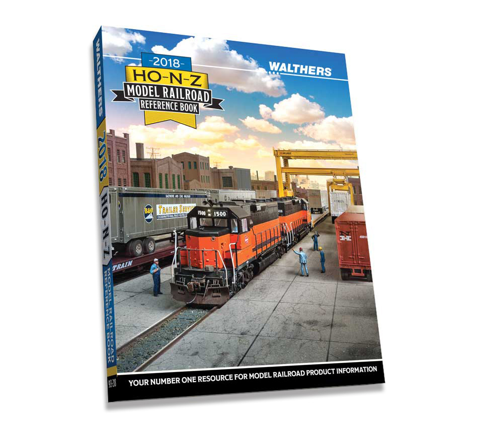 Walthers 2018 HO-N-Z Reference Book Catalog, 913-218