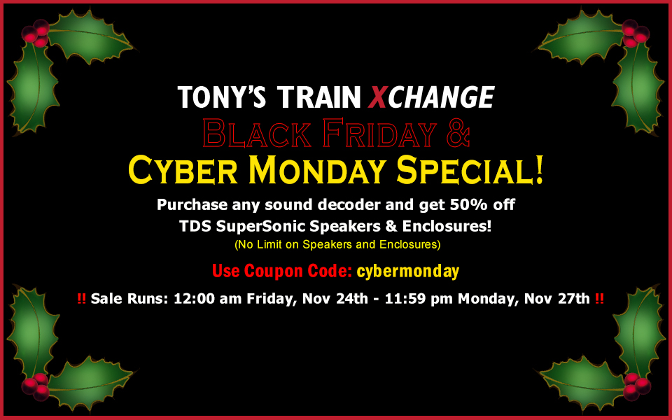 Black Friday & Cyber Monday Special