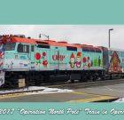 Kato 106-2017, N Scale Operation North Pole 2017 Christmas Train Set