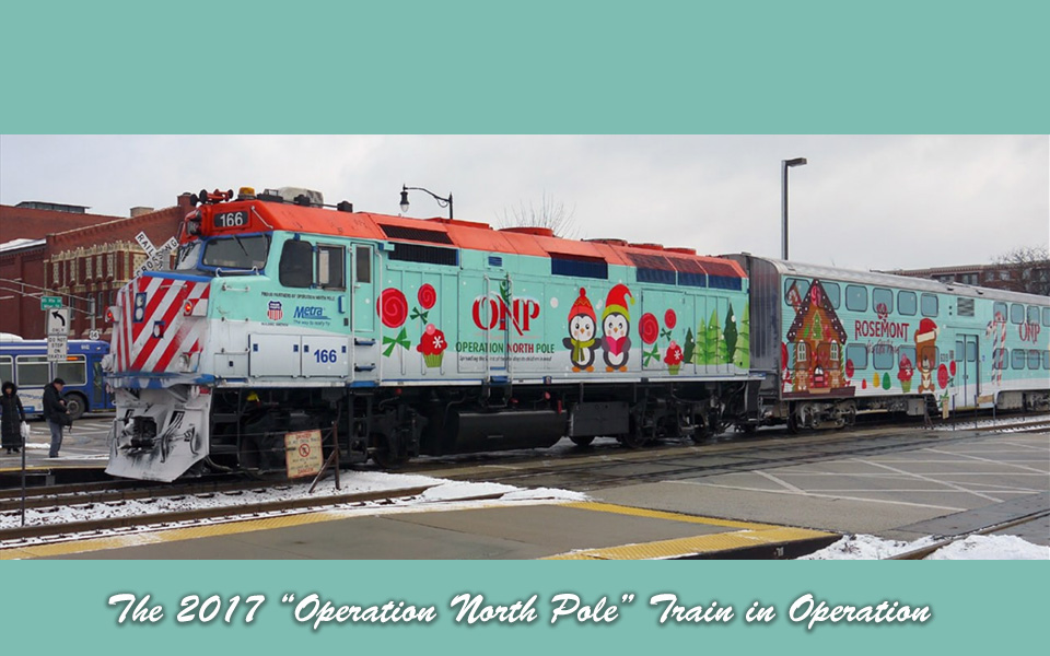 Kato 106-2017, N Scale Operation North Pole 2017 Christmas Train Set