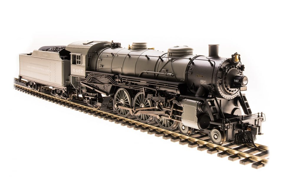 Broadway Limited Imports BLI-5611, HO USRA Light Pacific, Paragon3 Sound, NYC #6467