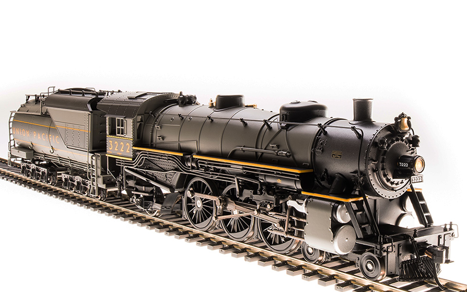 Broadway Limited Imports BLI-5612, HO USRA Light Pacific, Paragon3 Sound, UP #3222