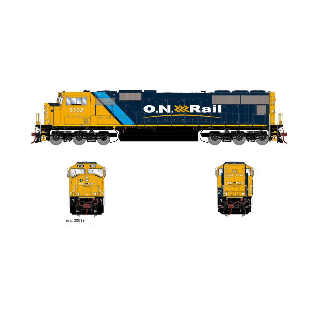 athearn genesis athg69511   ho emd sd75i  standard dc  ont